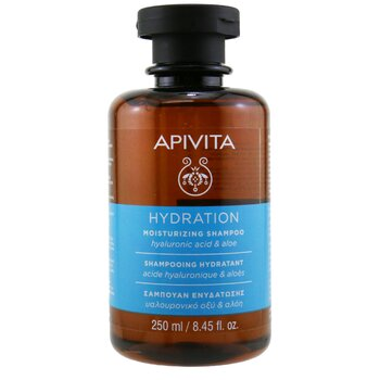 Apivita Moisturizing Shampoo with Hyaluronic Acid & Aloe (For All Hair Types)