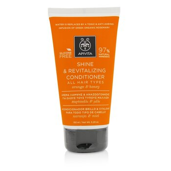 Apivita Shine & Revitalizing Conditioner with Orange & Honey