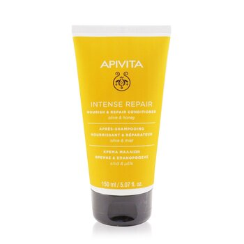 Apivita Nourish & Repair Conditioner with Olive & Honey (For Dry-Damaged Hair)