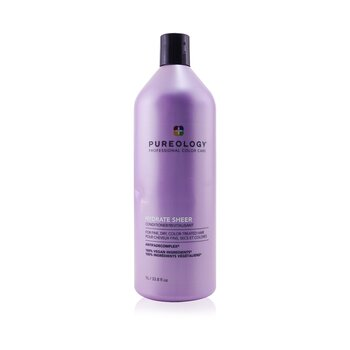 Hydrate Sheer Conditioner - For Fine, Dry, Color-Treated Hair (Bottle Slightly Crushed)